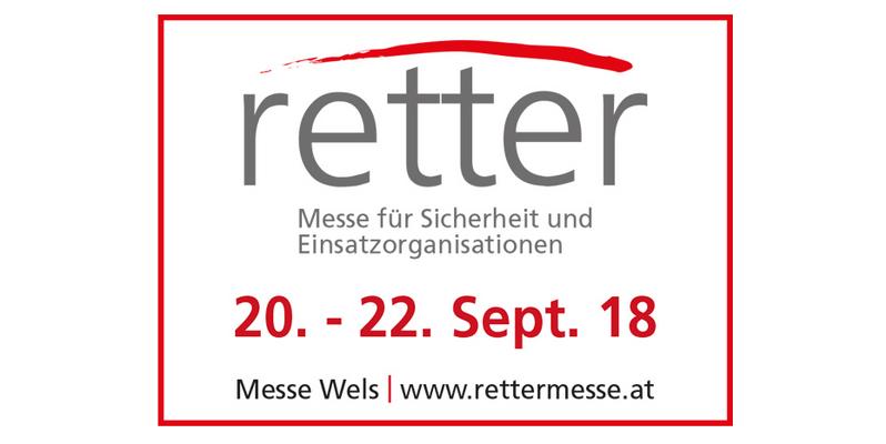 """Messepräsenz auf der Messe """"Retter"""" in Wels, Österreich"""