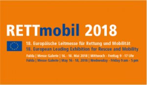 MW10 AG informiert auf der Fachmesse Rettmobil 2018 in Fulda